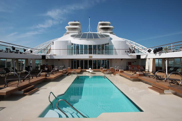 You could be here with The Grill awaiting when the sun goes down. Image: Seabourn