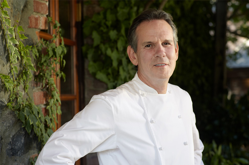 Thomas Keller has a tableful of Michelin stars. Image: Seabourn