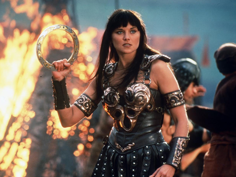 Lucy Lawless as Xena: Warrior Princess. Image: Renaissance Pictures
