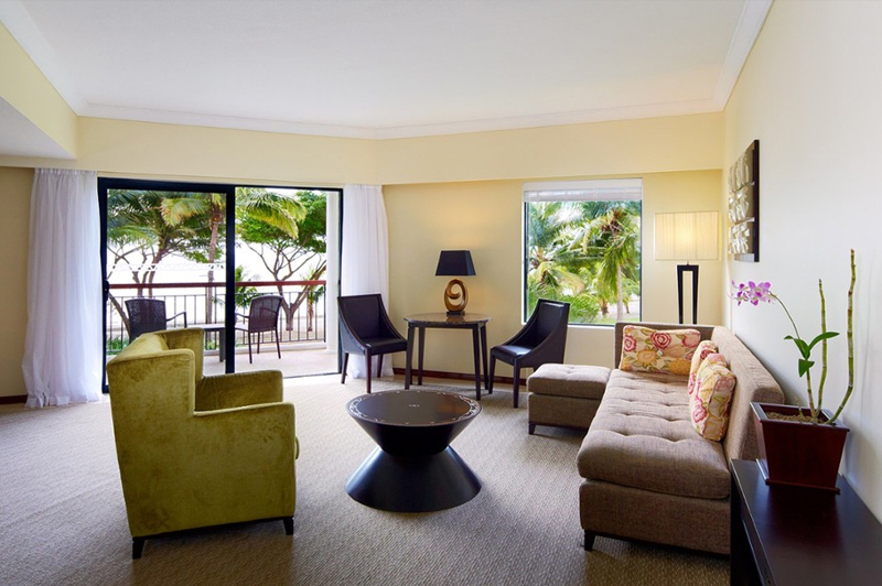Ocean Front Suite. Image: Sofitel Fiji Resort & Spa