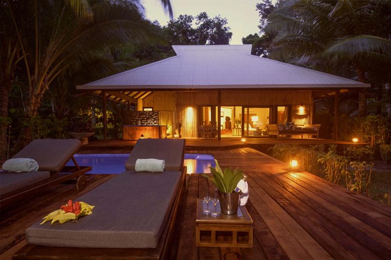 Royal Beach House. Image: Qamea Resort & Spa