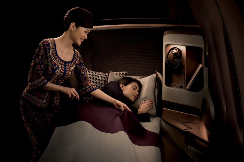Singapore Airlines Business Class service