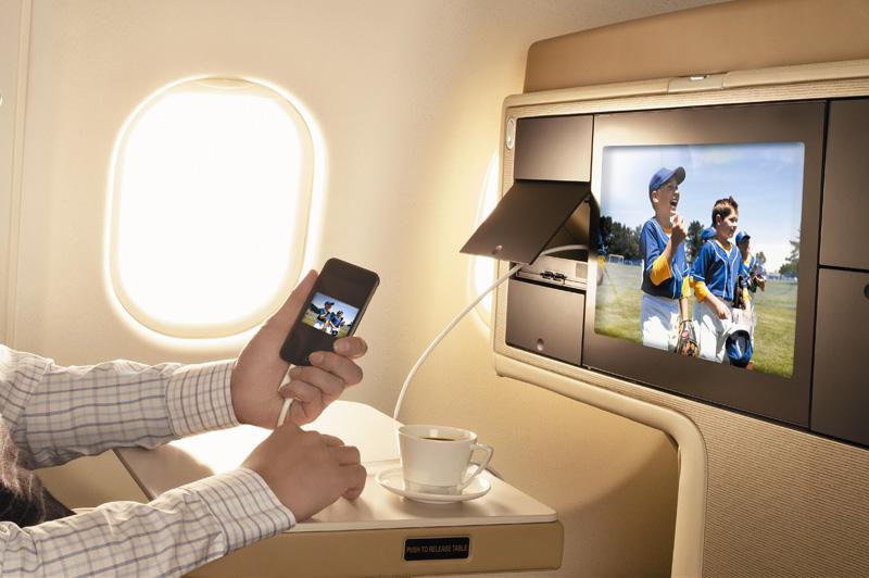 Singapore Airlines In flight Entertainment