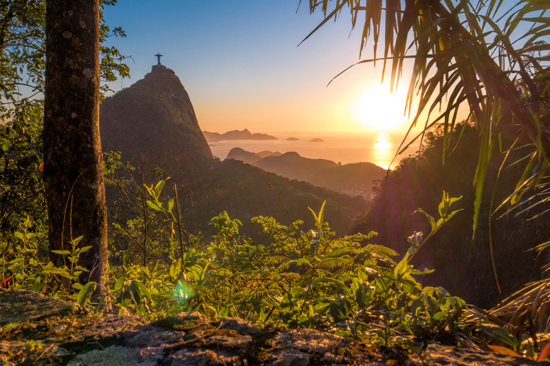 Christ The Redeemer from Tijuca Forest. Image: Getty