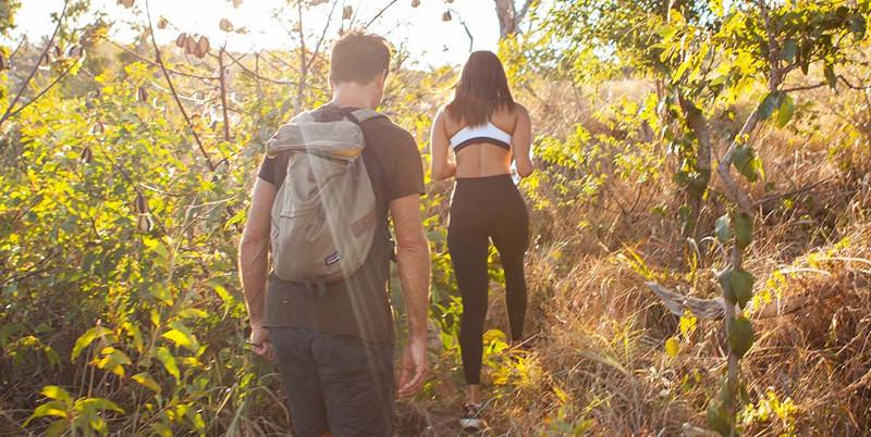 nature walk at Lizard Island
