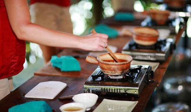 Spend time at the Red Bridge Cooking School learning about Vietnamese food and the Hoi An way of life.