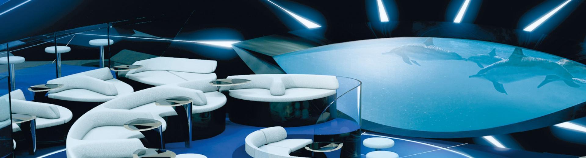 Blue Eye Lounge Ponant Explorer