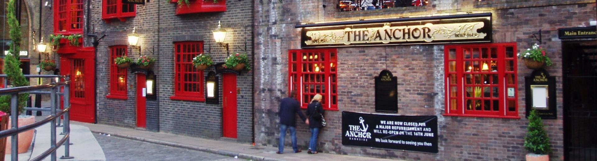 Historic London Pub feature