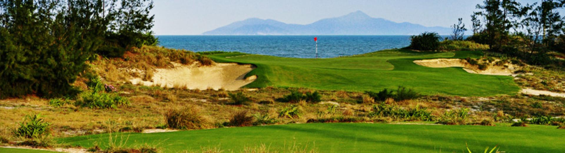The at Danang Golf Club plays out to the South China Sea pic Danang Golf Club