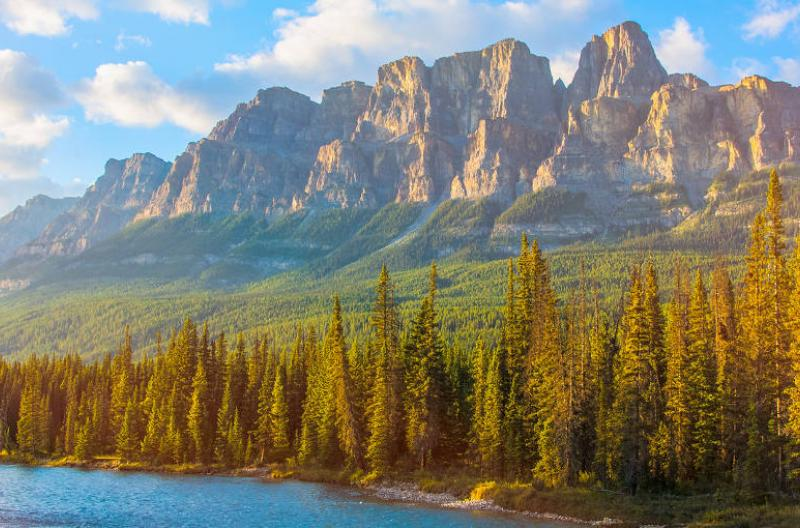 Castle Mountain Canadian Rockies