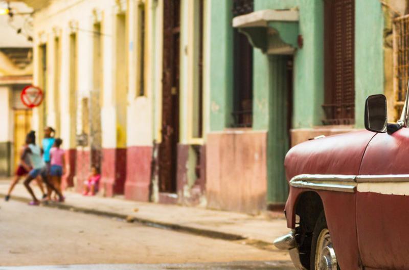 image of Street in Cuba