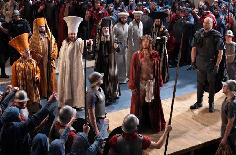 Oberammergau Passion Play.