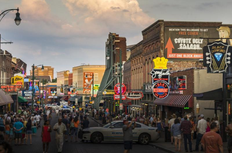 Memphis Tennessee Beale Street