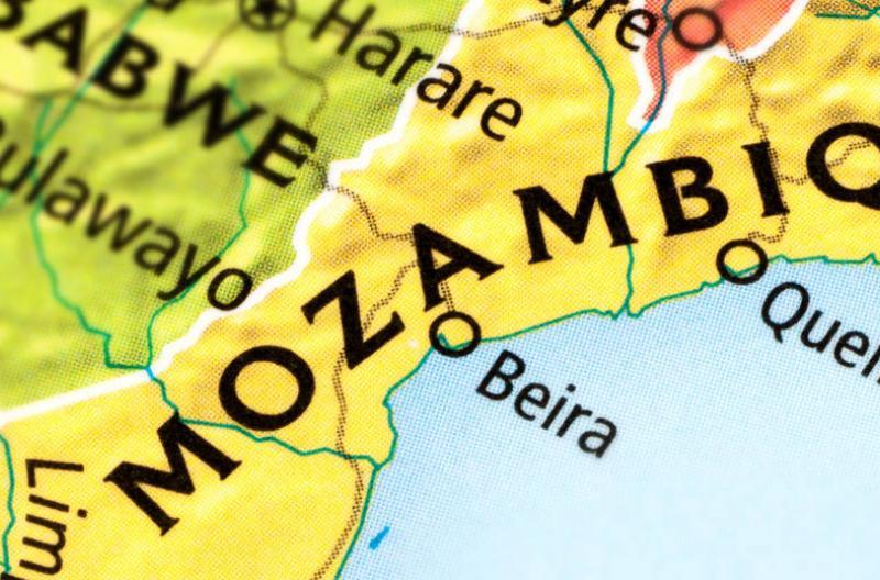 Mozambique Map Feature