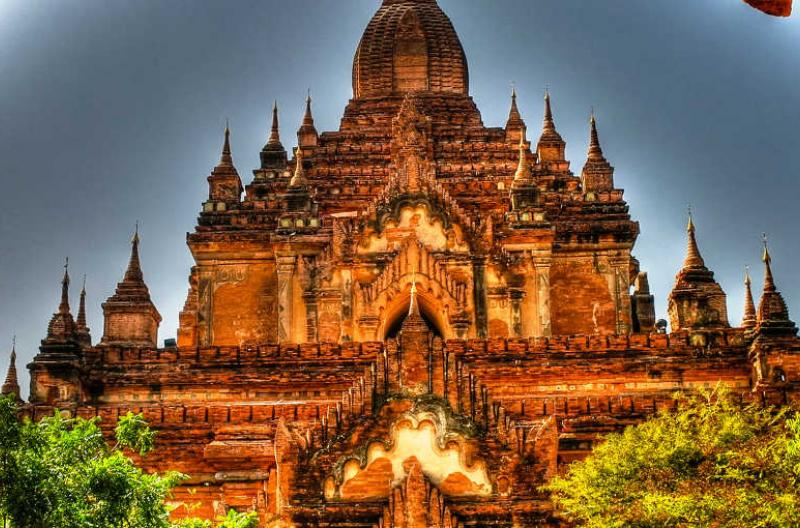 Myanmar Bagan temple