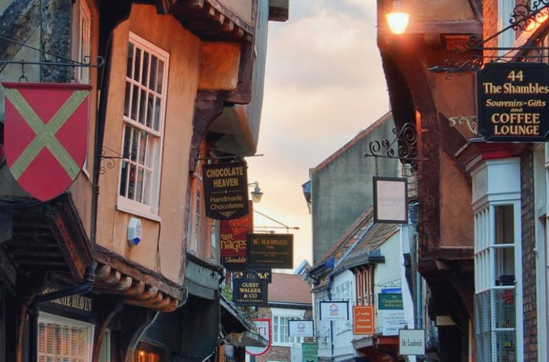 The Shambles, York, Britain