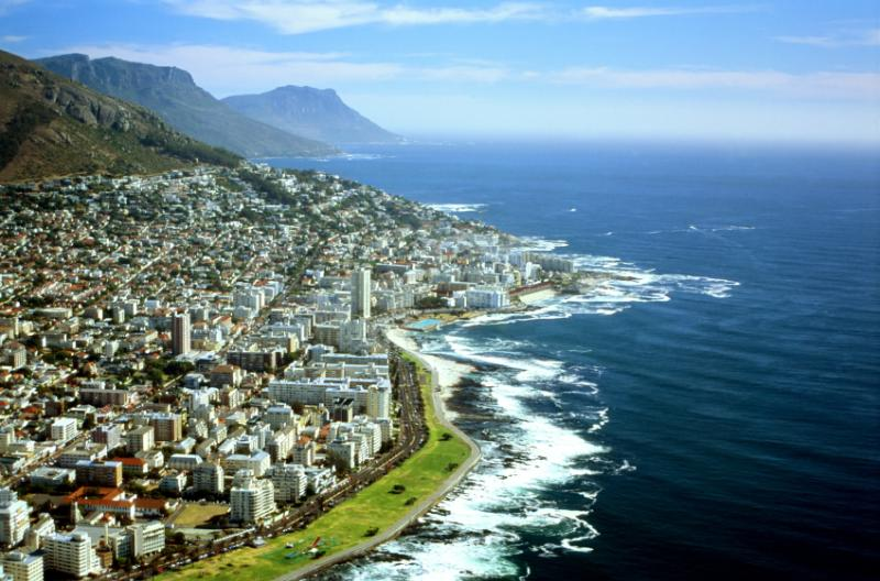 CapeTown   Aerial view