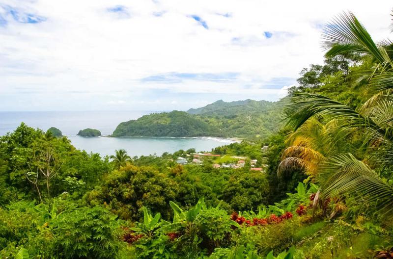 Dominica island getty