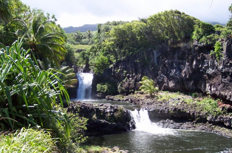 Sacred Pools Haleakala National Park Maui