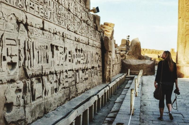 Solo travel Egypt
