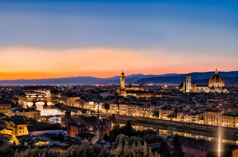 Sunset Piazzale Michelangelo Florence