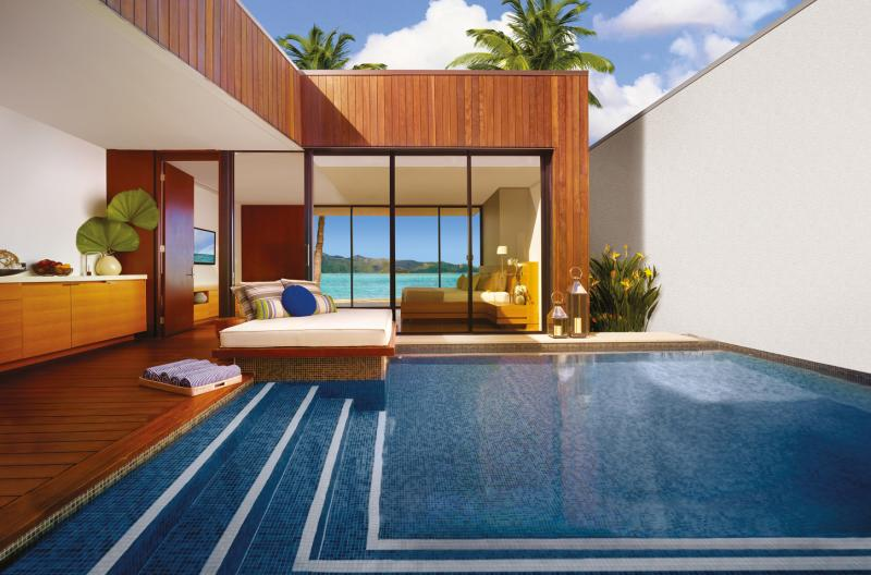 hayman island resort pool beach accommodation