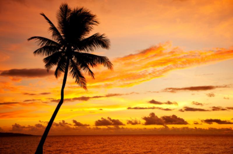 Fijian Sunset (
