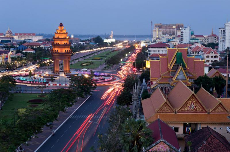 phnompenh city