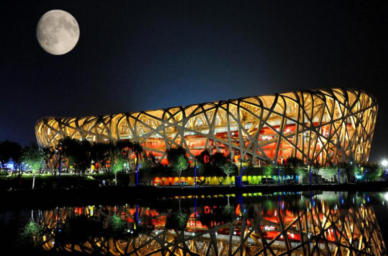 Image of Beijing Stadium Birds nest