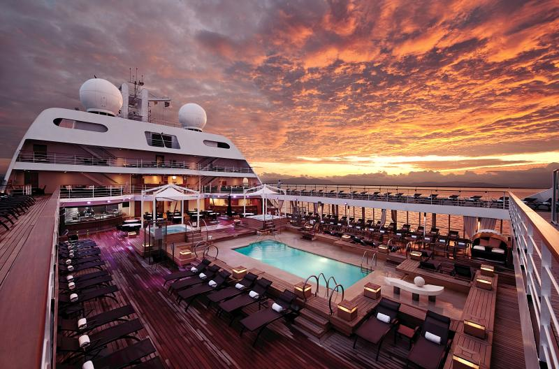 Onboard Seabourn