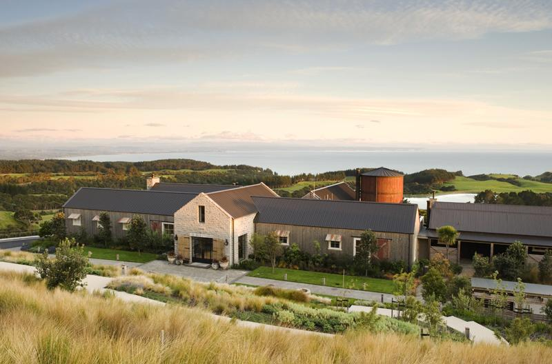 The Front of Cape Kidnappers