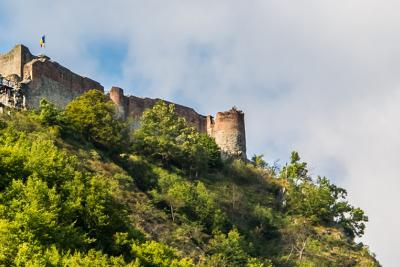 Poenari Castle in Romania