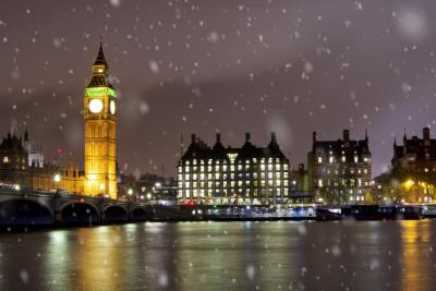 London snow travel alert