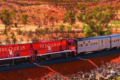 The Ghan Railway - a luxury, historic journey