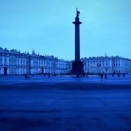 Palace Statue Winter