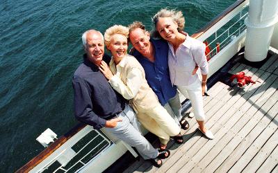 Seniors on cruise ship