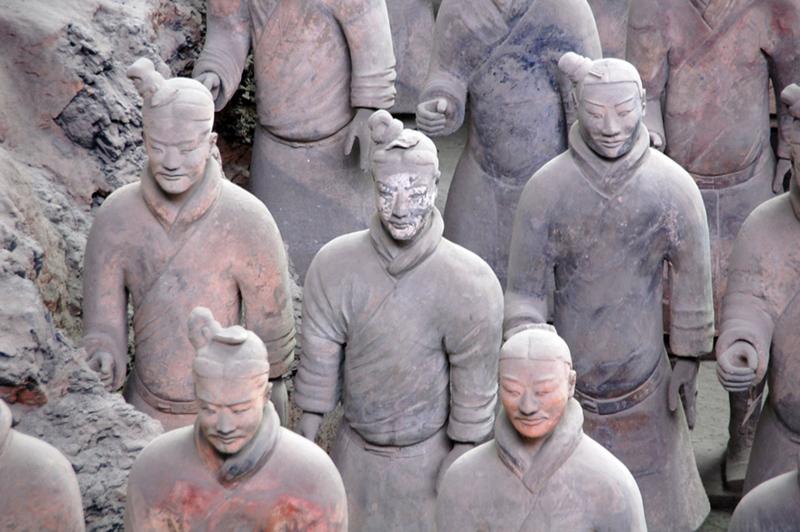 Terracotta Warrior statues in Xi'an