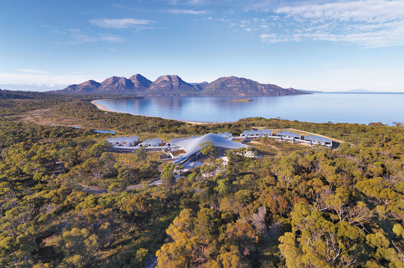 Saffire Freycinet, Tasmania
