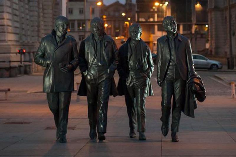Bronze Statue of The Beatles
