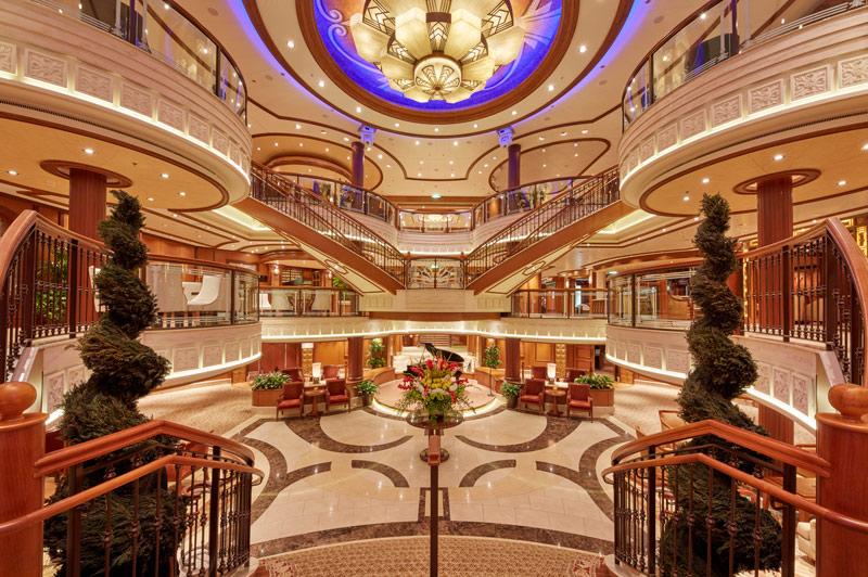 Cunard's Queen Elizabeth Grand Lobby