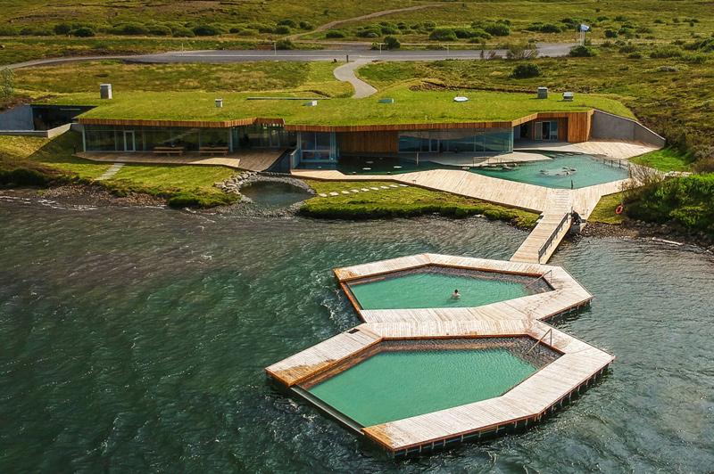 Vök Baths, Iceland