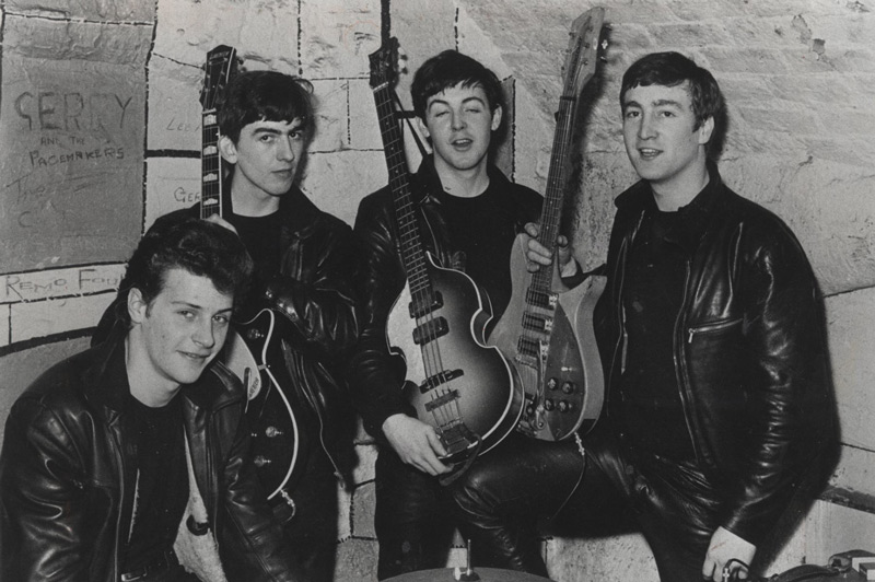 The Beatles at The Cavern Club (image courtesy of The Cavern Club)