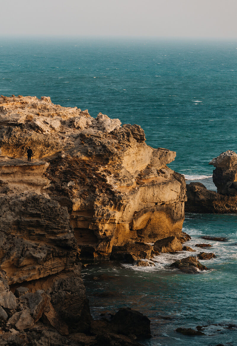 Cape Northumberland at Port Macdonnell is the southernmost point of South Australia