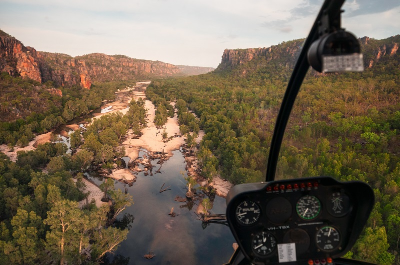 Scenic flight around Kakadu National Park | Credit: Tourism NT/Daniel Tran