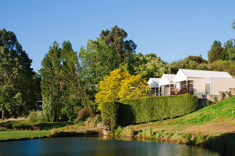 The Lake House on Lake Daylesford