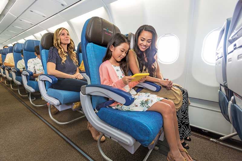 Hawaiian Airlines Economy Extra Legroom