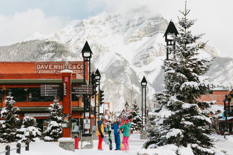 Banff Ski Snowboard Banff Avenue Mike Seehagel