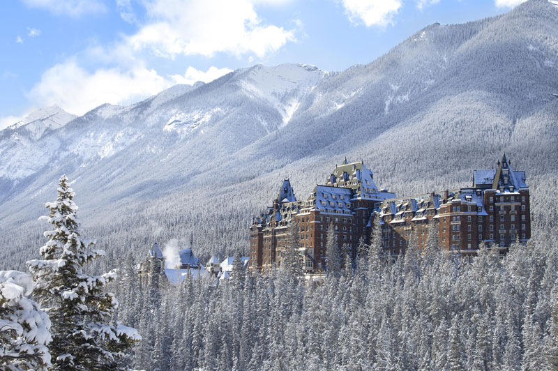 Banff Springs Winter standard