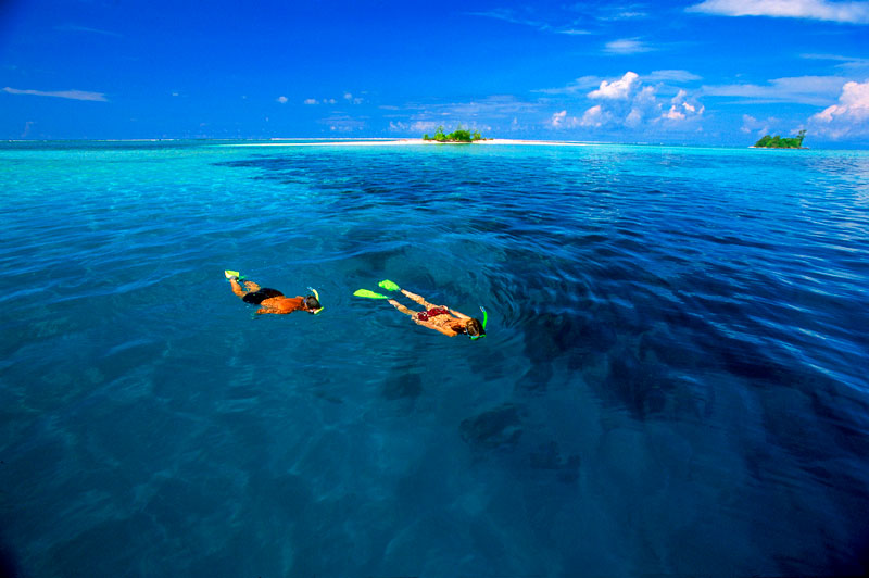 Dive beneath the surface in Solomon Islands Snorkelling in Solomons