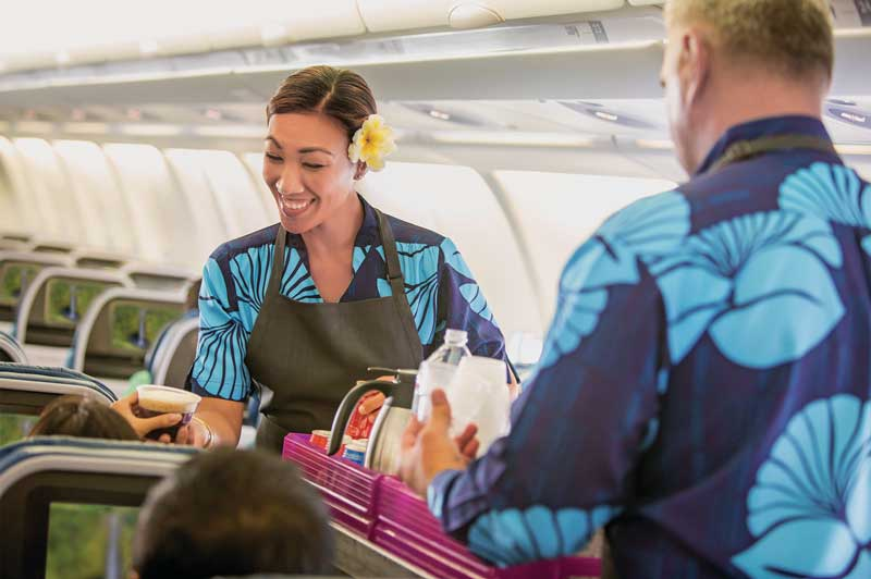 Hawaiian Airlines Food Service